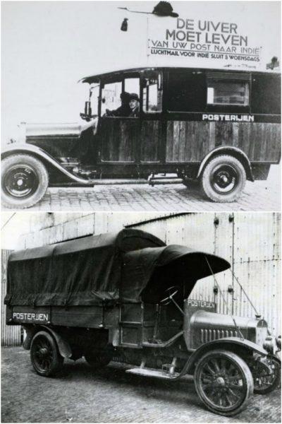 De Chenard & Walker en de Franz postwagen